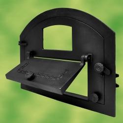 pizzaofent r backofent r aus gusseisen mit sichtglas. Black Bedroom Furniture Sets. Home Design Ideas