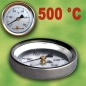 Preview: Backofenthermometer 500°C für Türeinbau