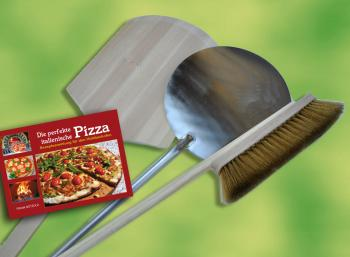 Pizzaschaufel Set 4-teilig