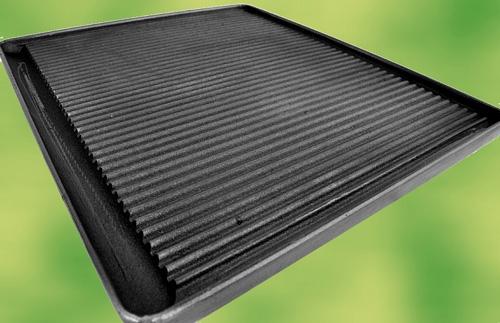 grillplatte aus gusseisen 430x390 pizzaofen. Black Bedroom Furniture Sets. Home Design Ideas