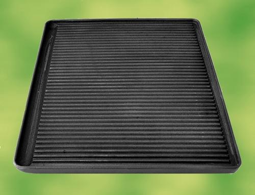 maxi grillplatte aus gusseisen 585x585 pizzaofen. Black Bedroom Furniture Sets. Home Design Ideas