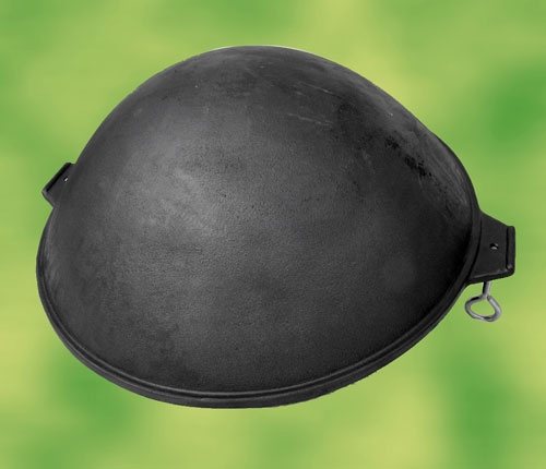 maxi wok aus massiven gusseisen wok pizzaofen. Black Bedroom Furniture Sets. Home Design Ideas